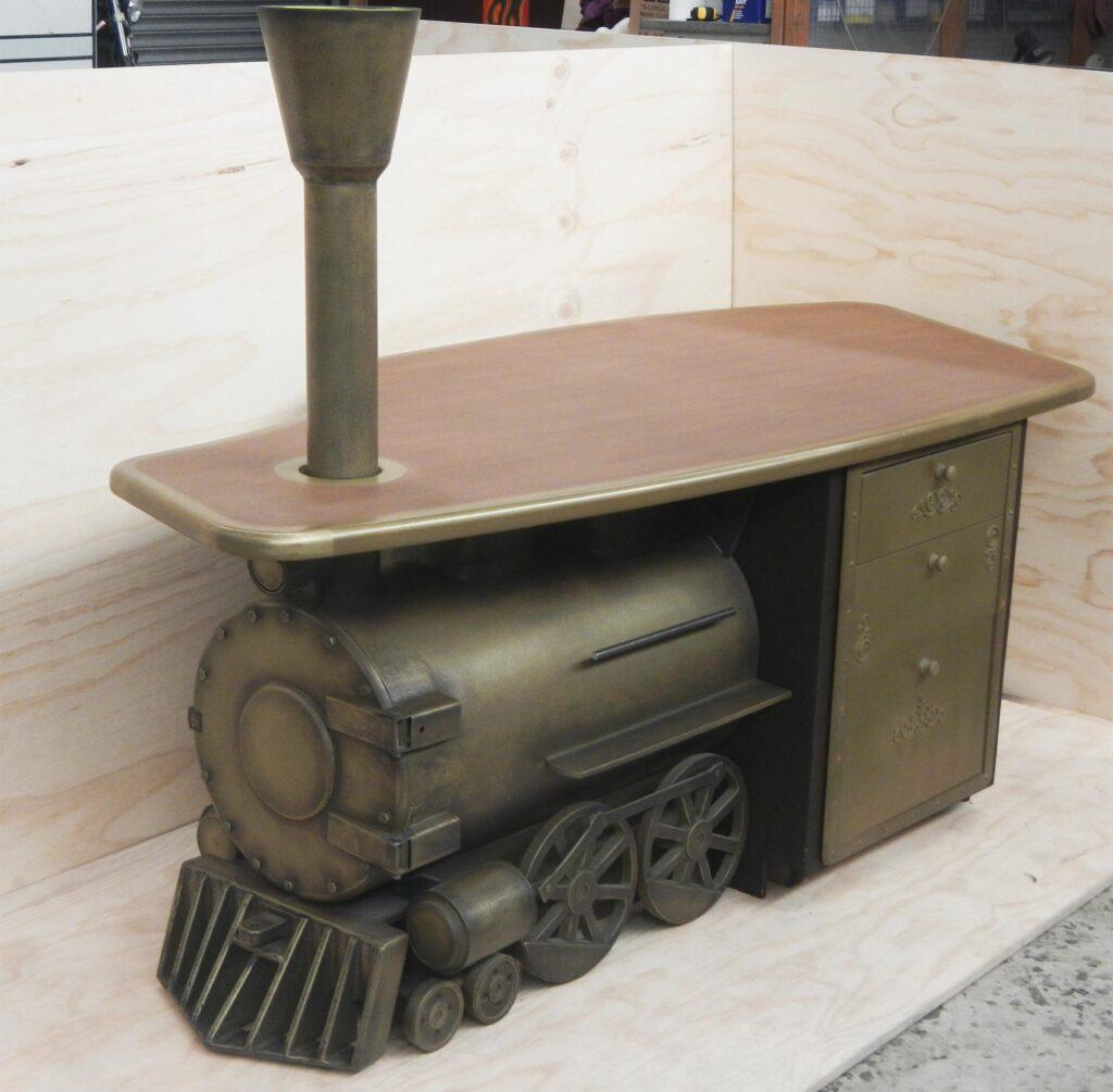Brass Steam train