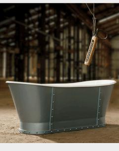 Pewter bath